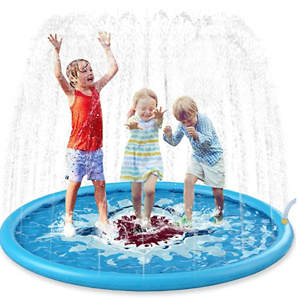 "Jasonwell Sprinkle & Splash Play Mat 68"" Sprinkler"