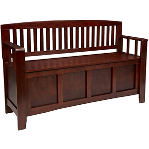 Linon Home Dcor Linon Home Decor Cynthia Storage Bench
