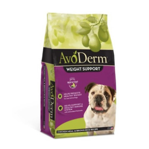 AvoDerm Weight Support Chicken Meal & Brown Rice Recipe Dry Dog Food