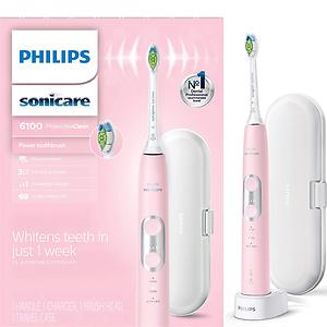 Philips飞利浦 Sonicare 6100 美白电动牙刷 HX6876/21