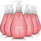 Method 葡萄柚味洗手液 12 Fl Oz 6瓶装