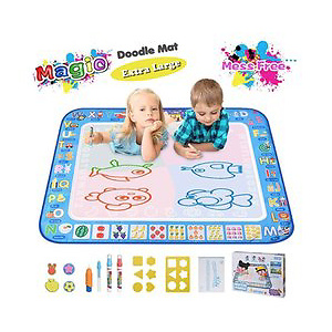 "Large Magic Water Drawing Mat 38.5""x29.5"" Learning Toys"