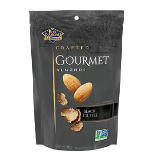 Blue Diamond Gourmet Almonds, Black Truffle, 5 Ounce