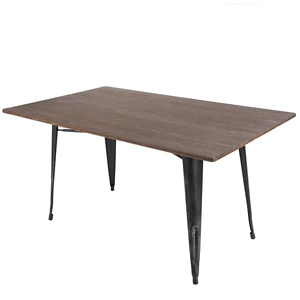 Home Depot: Harper & Bright Designs Black Rectangular Dining Table