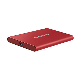 SAMSUNG Portable SSD T7 500GB USB 3.2 External Solid State Drive