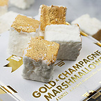 Gold Champagne Marshmallow Gift Box by Wondermade