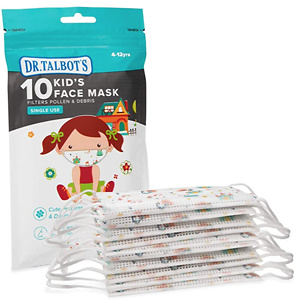 Dr. Talbot's Disposable Kid's Face Mask for Health Protection