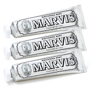 Lookfantastic US & Canada:Marvis Whitening Mint Toothpaste Bundle 25% OFF