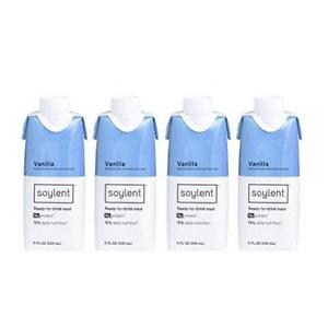 Soylent Nutritional Shake - Vanilla - 4pk/11 fl oz