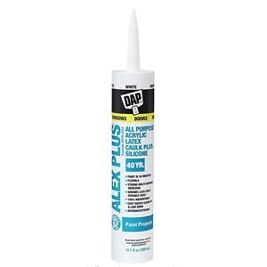 DAP INC 18152 10.1oz 室内外乳胶密封缝隙胶