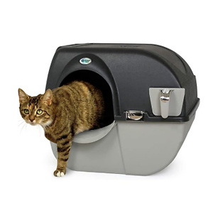 Omega Paw Roll N Clean Self Separating Self Cleaning Litter Box