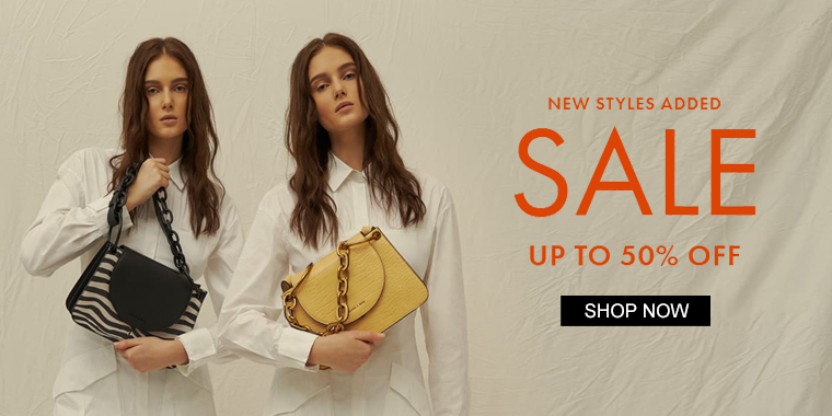 Charles & Keith : Up to 50% OFF End of Season Sale