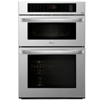 LG Electronics 30 in. Electric Convection and EasyClean Wall Oven