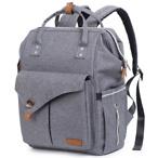 Waterproof Polyester Cloth Diaper Bag Backpack Large Capacity