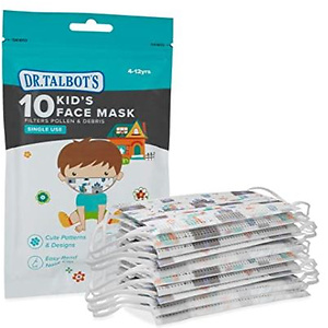 Dr. Talbot's 一次性3层防护儿童口罩,10 个