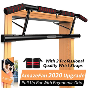 AmazeFan Pull Up Bar Doorway with Ergonomic Grip
