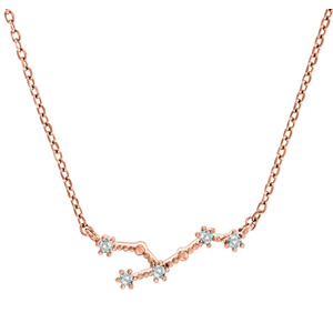 PAVOI 14K Gold Plated Astrology Constellation Horoscope Zodiac Necklace