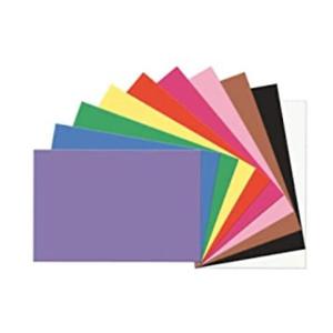 "SunWorks Construction Paper, 10 Assorted Colors, 9"" x 12"", 100 Sheets"