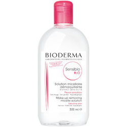 BIODERMA SENSIBIO H2O MAKE-UP REMOVING SOLUTION SENSITIVE SKIN 16.7 FL. OZ.