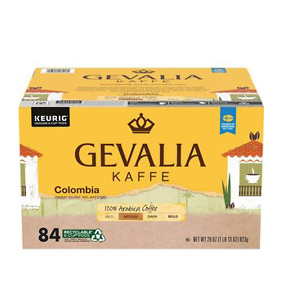 GEVALIA Colombian Coffee K-Cup Pods