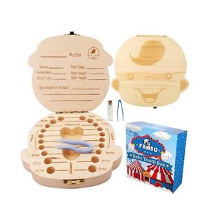 木质儿童乳牙纪念盒