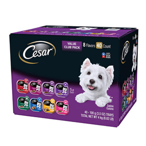 Sams Club: Cesar Canine Cuisine Wet Dog Food (3.5 oz., 40 ct.) for $29.72