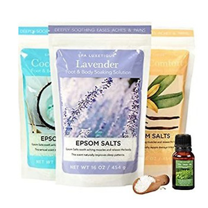 Spa Luxetique Epsom Salt Bath