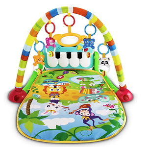 UNIH Baby Activity Gym Rack Piano Fitness Playmat
