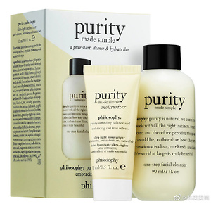 philosophy A Pure Start: Purity Cleanse & Hydrate Duo