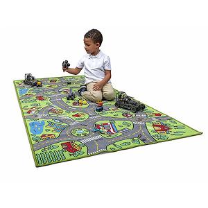 Kids Carpet Playmat City Life Extra Large Learn Have Fun Safe