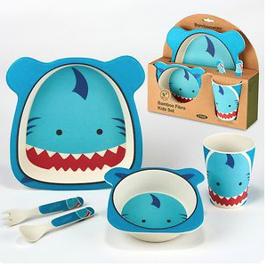 Certified International Shark 5-pc. Kids Dinnerware Set