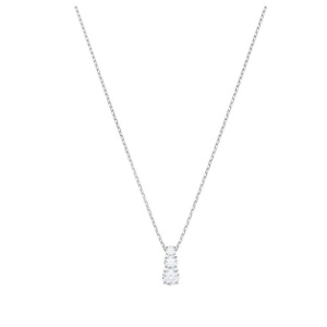 SWAROVSKI Women's Attract Trilogy Round Pendant