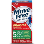 Schiff Move Free Bone & Joint Supplement, Glucosamine Chondroitin + MSM, Tablets 120.0ea