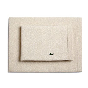 Lacoste Camo Sheet Set, Full, Oatmeal