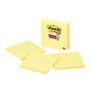 Post-it Super Sticky Notes, 2x Sticking Power