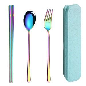 AINAAN 不锈钢便携餐具3件套