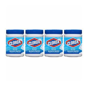Clorox Zero Splash Bleach Packs, 4 Pack