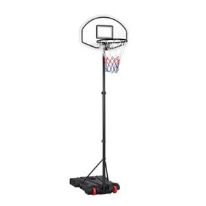 Portable Height Adjustable Basketball Hoop System