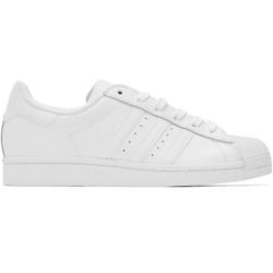 adidas Originals White Superstar Sneakers
