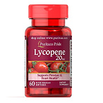 Puritans Pride Lycopene 20 Mg Softgels