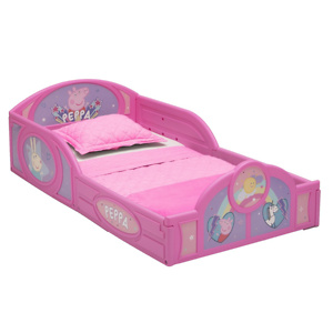 Peppa Pig Plastic Sleep and Play Toddler Bed