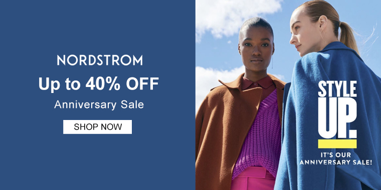 Nordstrom: Up to 40% OFF Anniversary Sale