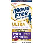 Schiff Move Free 维骨力+ 磷虾油 Omega 30粒