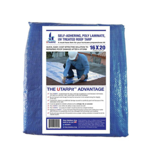 Home Depot: UTARPit 16 ft. x 20 ft. Blue Roofing Tarp for $88