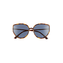 DIOR Sostellaire 58mm Cat Eye Sunglasses