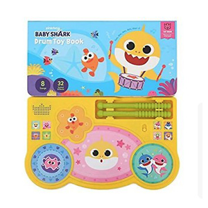 Pinkfong Baby Shark Drum Toy Book