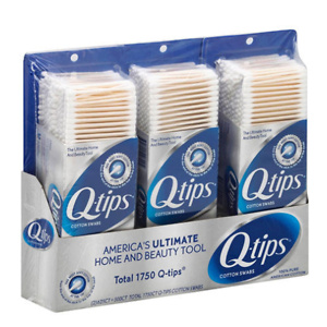 Sams Club: Q-tips Cotton Swabs (625 ct., 2 pk. + 500 ct., 1 pk.)