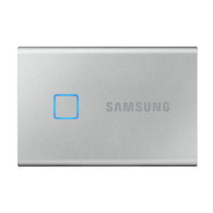 SAMSUNG T7 Touch Portable SSD 2TB - Up to 1050MB/s