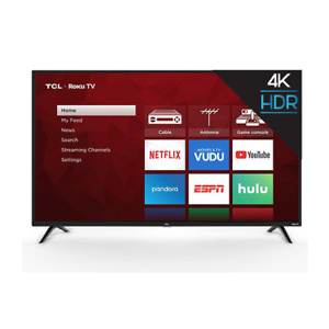 "TCL 55"" Class 4K UHD LED Roku Smart TV HDR 4 Series"