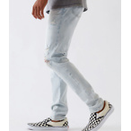 PacSun Light Ripped Stacked Skinny Jeans